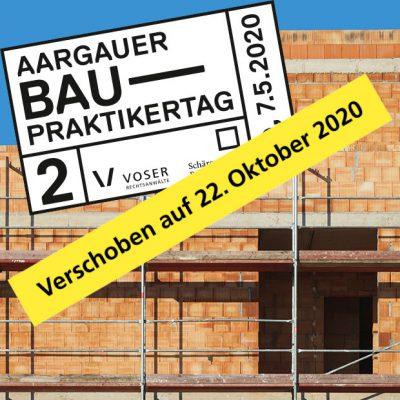 2. Aargauer Baupraktikertag