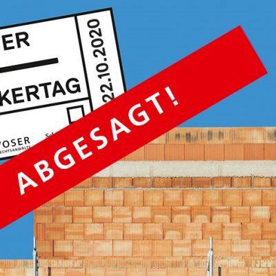 ABGESAGT: 2. Aargauer Baupraktikertag