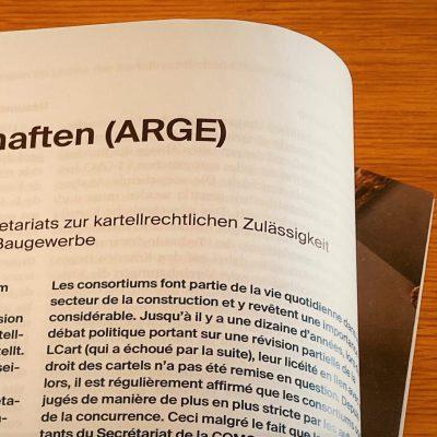 Arbeitsgemeinschaften (ARGE) im Baugewerbe